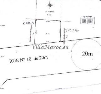 224 m2 Bouwgrond Nador Selouane Titre met kadaster
