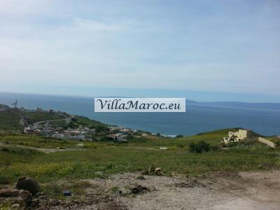 Terrain vu sur mer zone villas 2500m2