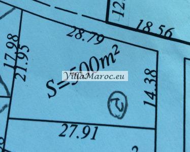 Villakavel 500M2 a 170DH/M2