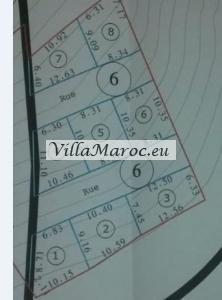 8 bouwstukken (86 - 101 m2) te koop in Alhoceima